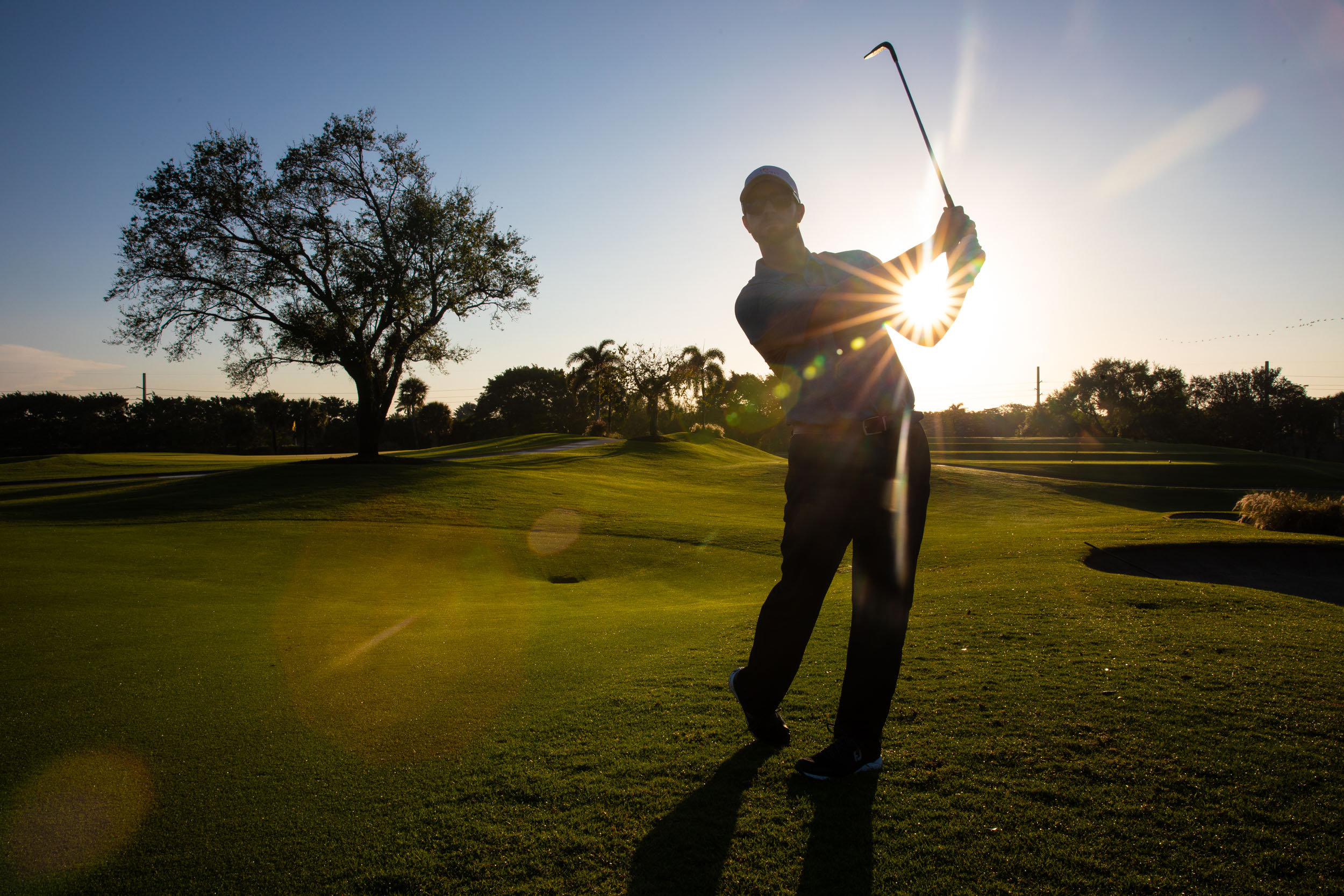 Florida Photography | golfing at sunrise | Steven Martine
