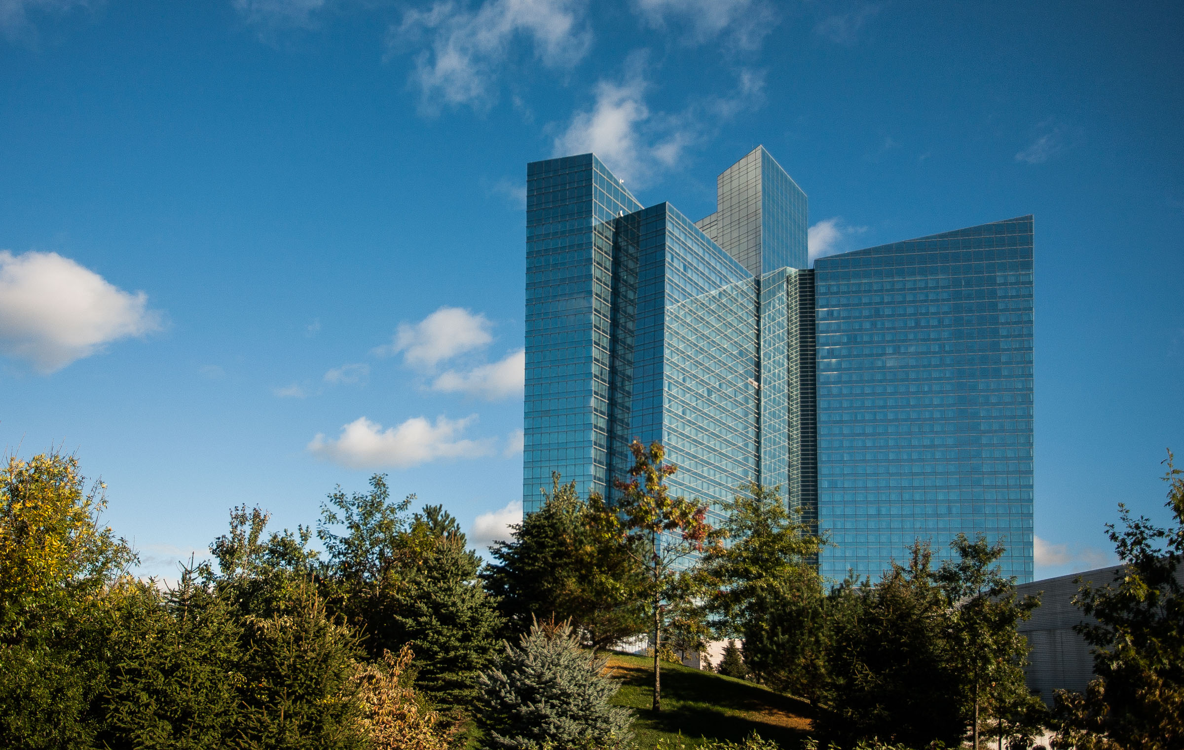 The Mohegan Sun by Steven Martine Florida advertising architecture photographer