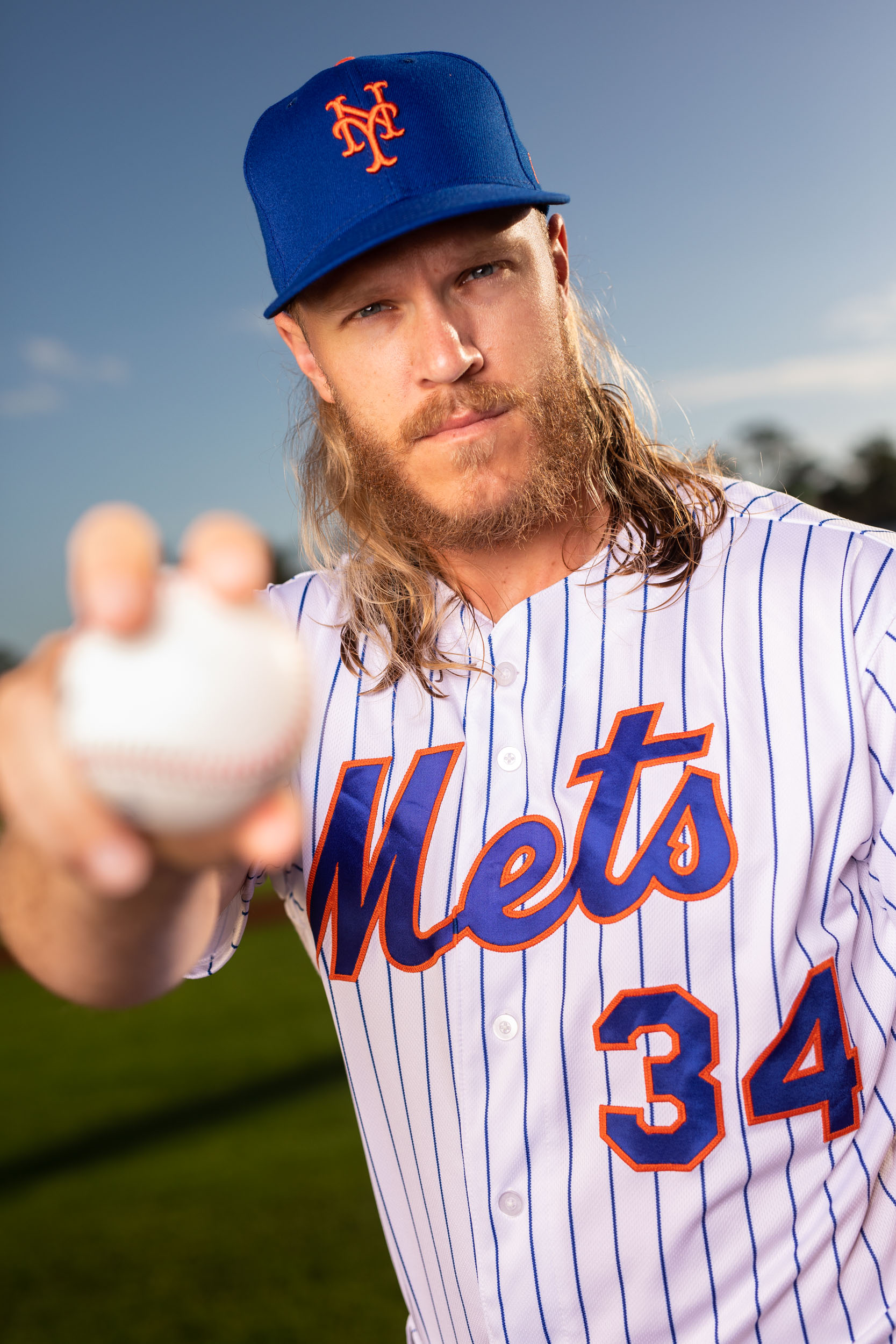 Noah Syndergaard image by Steven Martine, sports and portrait photographer