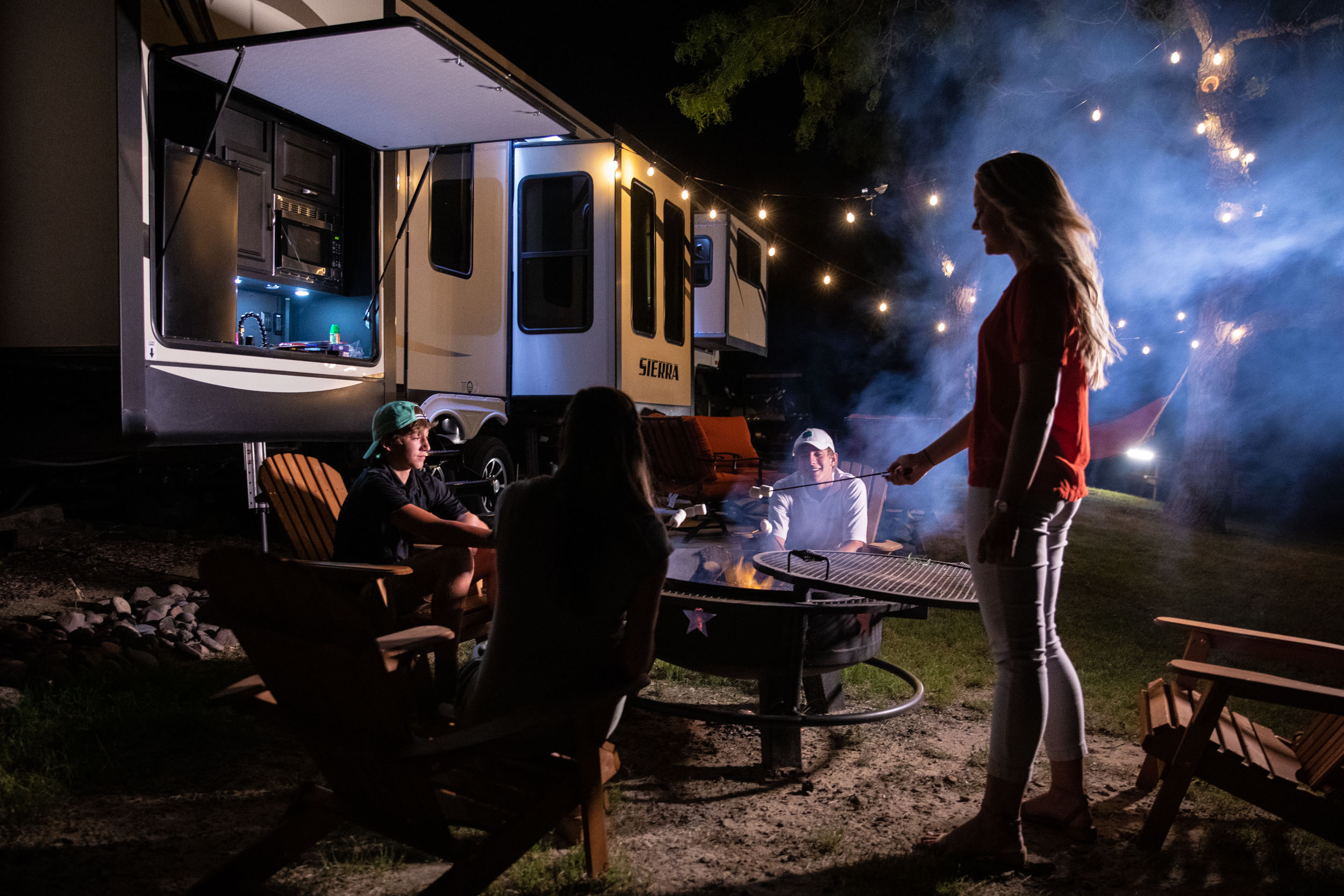 Florida Photography | Texas campfire fun | Steven Martine