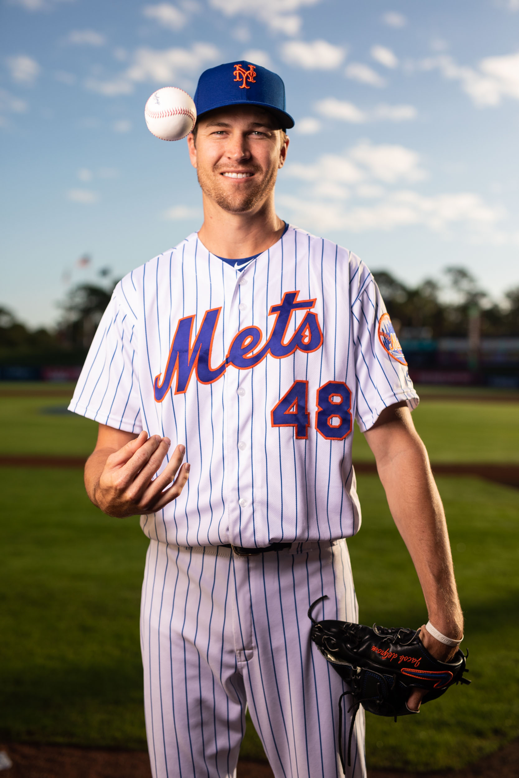 Florida Photography | Jacob deGrom for the NY Mets | Steven Martine
